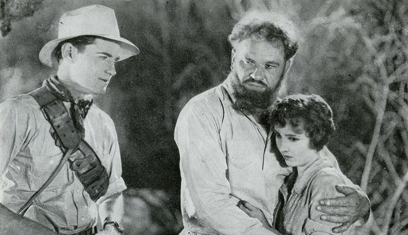 1925_lost_world_011_lloyd_hughes_wallace_beery_bessie_love