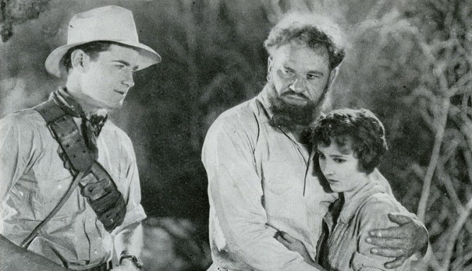 1925_lost_world_011_lloyd_hughes_wallace_beery_bessie_love