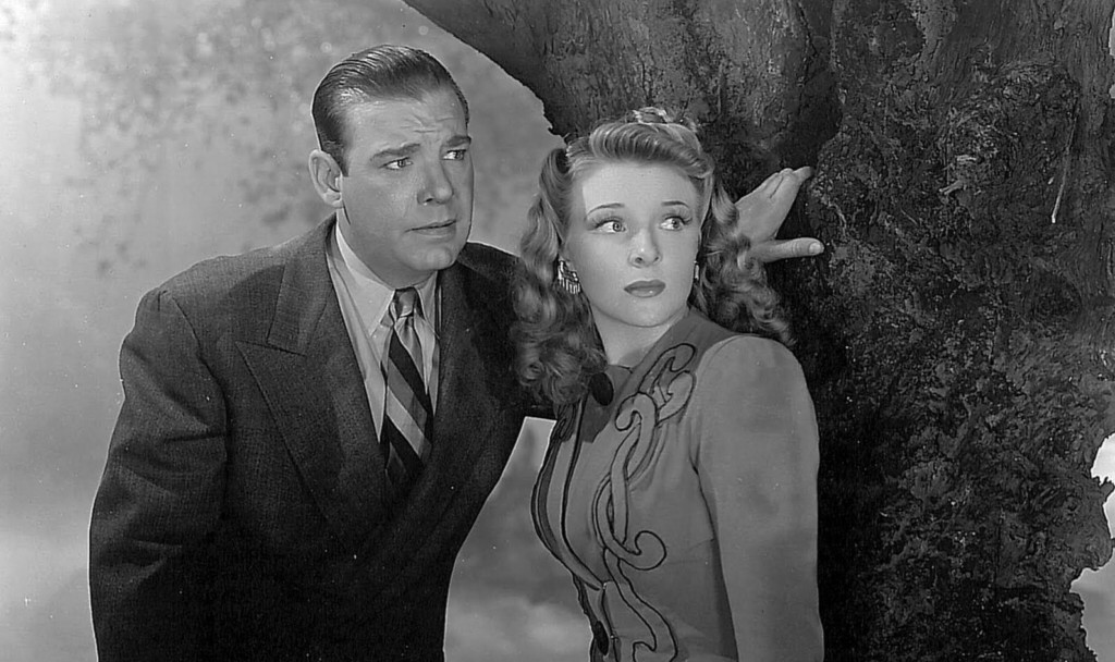 1942_ghost_of_frankenstein_021 lon chaney evelyn ankers wolf man 1941