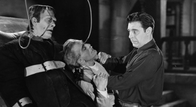 1944_house_of_frankenstein_007 lon chaney glenn strange boris karloff
