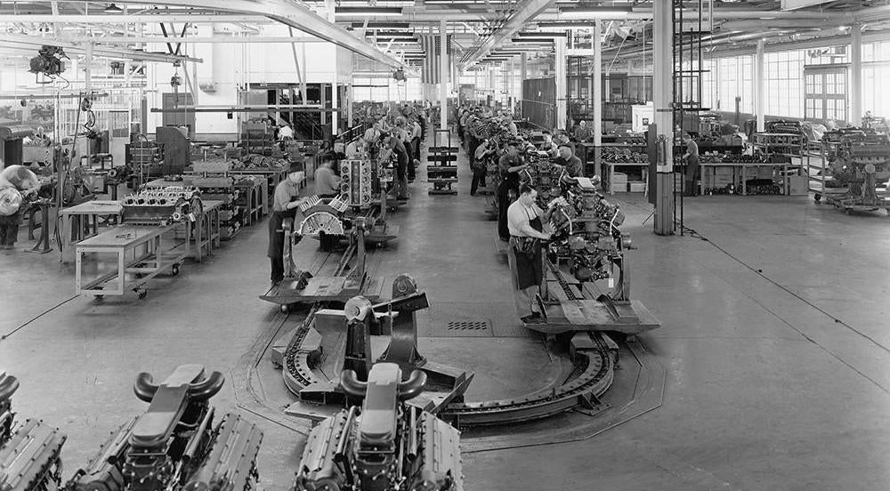 1945_strange_holiday_016 general motord detroit 1940s